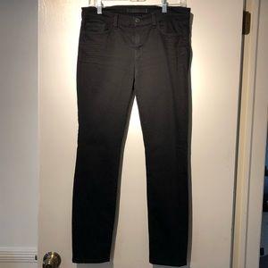 J Brand Skinny Black Jean -EUC